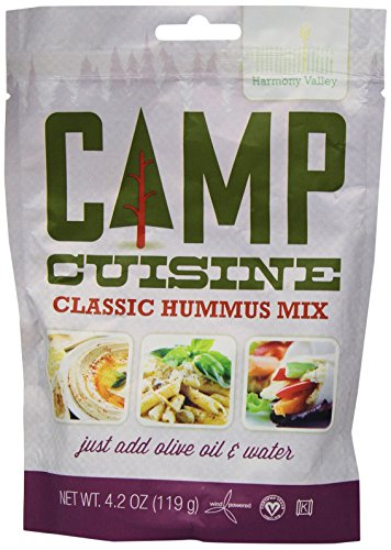 (Harmony Valley Camp Cuisine Classic Hummus Mix, 4.2 oz)