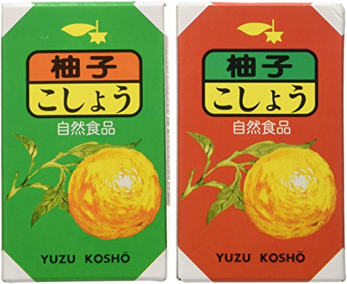 Red and Green Yuzu Kosho Duo by Earthy Delights