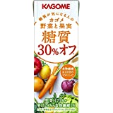 Kagome vegetables and fruit sugar quality 30% off 200ml (24 pieces x2 case) 48