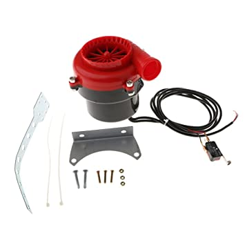 Kit de Fake escape electrónica Turbo válvula Blow Off BOV alta calidad con interruptor para coche Piccolo: Amazon.es: Coche y moto