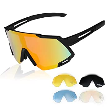 GARDOM Gafas de Sol Polarizadas, Gafas de Sol Ciclismo Deportivas ...