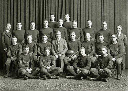 (8 x 10 Tin Sign 1922 Michigan Wolverines Football Team)