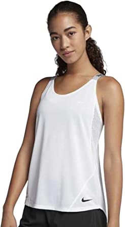NIKE W Dry Tank Elastka - Camiseta sin Manga Mujer: Amazon.es: Ropa y accesorios