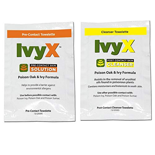 Poison Oak and Ivy Formula Pre-Contact Skin Solution and Cleanser (Ivy Block)