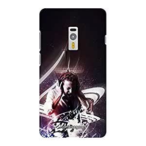 HomeSoGood Crazy For Music Multicolor 3D Mobile Case For OnePlus 2 (Back Cover)