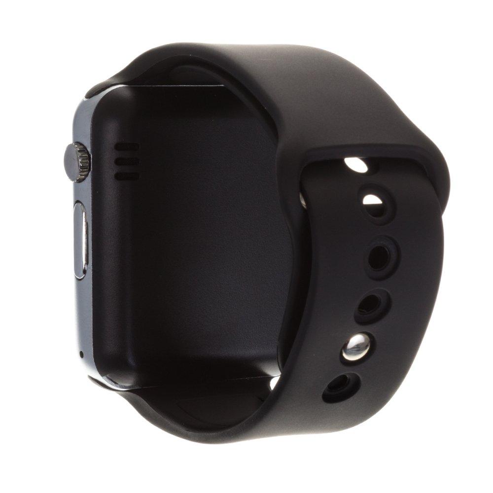 DAM - G08 Smartwatch Black. Cámara integrada. Acepta SIM y micro sd de hasta 32gb. reproductor de música, agenda de contactos, registro de llamadas, ...