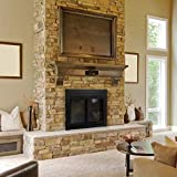 Pleasant Hearth AN-1011 Alpine Fireplace Glass