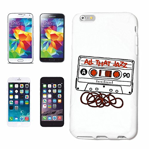 "cas de téléphone iPhone 6+ Plus ""TOUT CE JAZZ MUSIC CASSETTE CASSETTE RETRO BAND JAZZ SALADE TECHNO FUNKY SOUL TRANCE FESTIVAL MAISON HIPHOP HIP HOP DJ"" Hard Case Cover Téléphone Covers Smart Cover po"