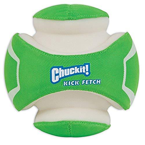 Glow Dog Dog Balls - Chuckit! Kick Fetch Ball Dog Toy Interactive Play 2 Sizes,Max Glow