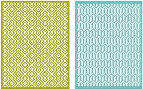 QUICKUTZ Lifestyle Crafts Sequence Embossing Folder, 2-Pack