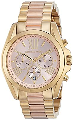 Michael Kors Women's Bradshaw Gold-Tone Watch MK6359 by Michael Kors Watches