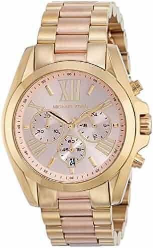 Michael Kors Women's Bradshaw Gold-Tone Watch MK6359