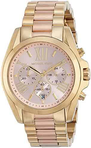 Michael Kors Women's Bradshaw Gold-Tone Watch MK6359