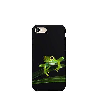 Amazon.com: Frog in Natural Habitat iPhone 6 7 8 X XS Funda ...