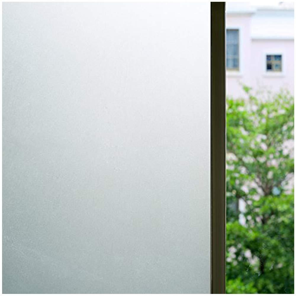 ブロスウィンドウフィルムEtchedつや消しプライバシーWindow Cling Window Tint for officeホームバスルーム部屋35.5-by-78.8-inch ホワイト B01IDJD7JK 3Ftx6.5Ft