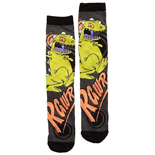 Rugrats Reptar Rawr Adult Crew Socks