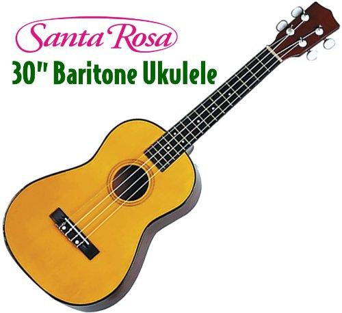 Santa Rosa BU17 Baritone Ukulele, Honey Maple
