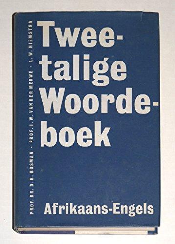 Tweetalige Woordeboek ( Bilingual Dictionary ) Afrikaans- Engels, Engels- Afrikaans