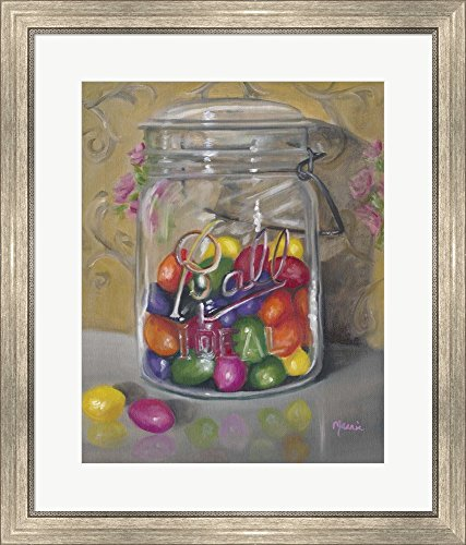 Jar Of Jellybeans by Marnie Bourque Framed Art Print Wall Pi