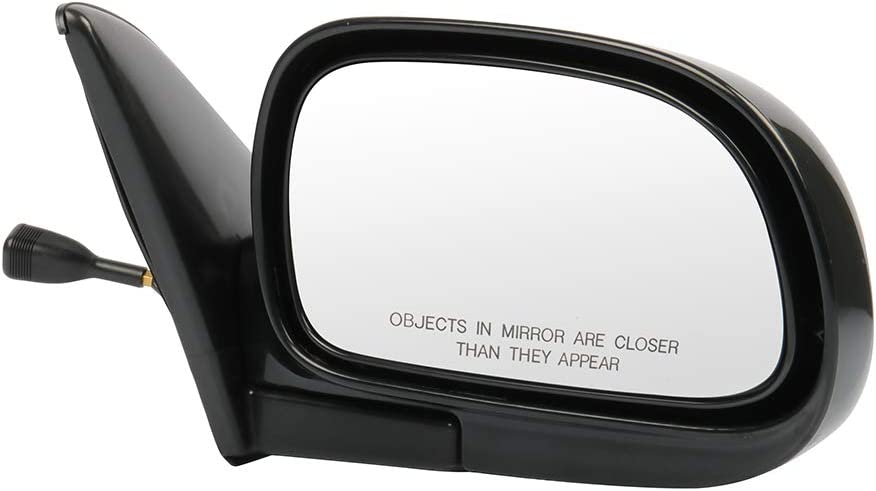 SCITOO Passenger Right Side Mirror Convex Side View Mirror Fits for 1993-1997 for Toyota Corolla 1992-1997 for Toyota AE100 Remote Manual Control Manual Folding 8791002073