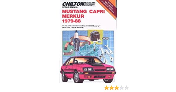 CH6963 Chilton Ford Mustang Capri Merkur 1979-1988 Repair Manual Paperback – 2004