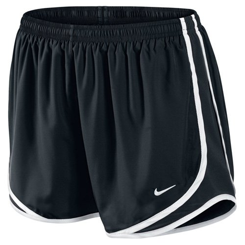 Ladies Mesh Shorts (Nike Lady Tempo Running Shorts - Medium - Black)