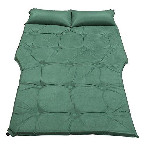 GYP アウトドアカーショックベッドSuv一般的な自動インフレ旅行ベッドカーベッドカースリーピングマットマットレスエアベッド ( 色 : 緑 ) B0785G1BRS  緑