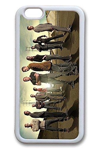 Gory iPhone 7 Case - Anti-Scratch White Rubber Back Case Bumper for iPhone 7 Prison Break Tv Show Actors Soft Rubber Back Case Cover for iPhone 7 4.7 Inches