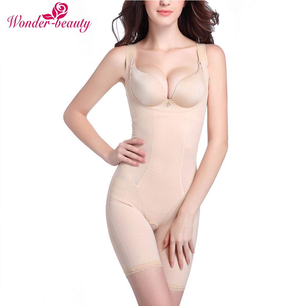Wonder-Beauty Women Bodysuit Body Shaper Tummy Control Underwear Slimmer Shapewear Camisole