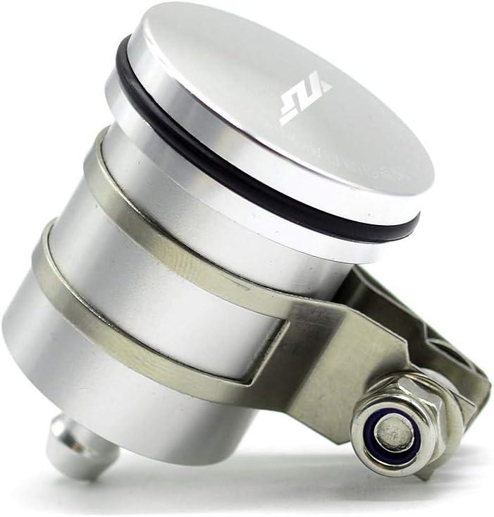 Anhuidsb Dep/ósito de aceite de la motocicleta freno trasero Dep/ósito de l/íquido de la tapa del embrague vaso de agente for Yamaha YZF R1 YZF R6 YZF R125 YZFR15 R25 YZF R3 anhuidsb Color : Red