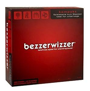 Mattel X3909 - Bezzerwizzer Kompakt (mit komplett neuen Fragen), Quizspiel