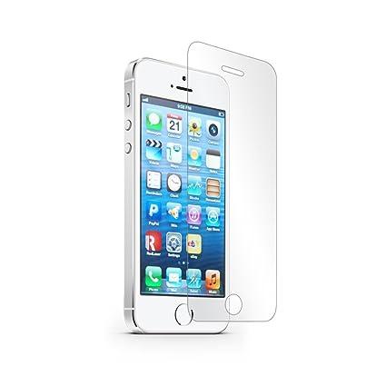 Peach PEAPEGLASSIP5 - Protector de Pantalla (Protector de Pantalla, Teléfono móvil/Smartphone, Apple, iPhone 5/5S/SE, Resistente a rayones, Transparente): Amazon.es: Electrónica