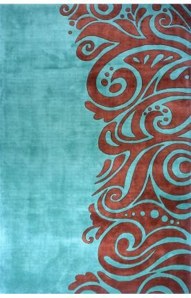 Momeni New Wave NW-88 Turquoise 8'-0