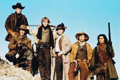 (Young Guns Color Poster Cast Emilio Estevez)