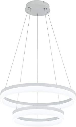ROYAL PEARL LED Pendant Light Modern Chandelier 5400lm 60W Flush Mount Pendant Lamp