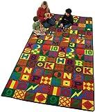 Educational Floors That Teach Kids Rug Rug Size: 6' x 12'