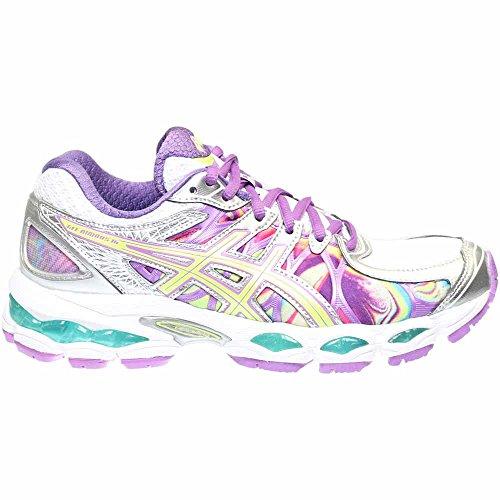 ASICS Women's GEL-Nimbus 16 Running Shoe Iridescent/Green/Blue