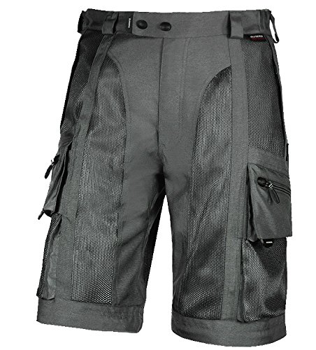 Olympia Dakar Men's Dual Sport On-Road Racing Motorcycle Pants - Pewter / Size 36