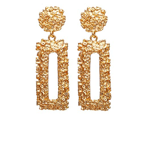 Aokarry Vintage Geometric Stud Drop Earrings for Women - ()