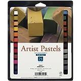 Pro Art Square Artist Pastel Set, 24 Portrait Colors