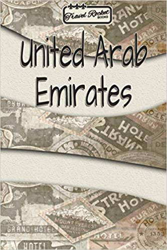 travel rocket books united arab emirates travel journal or travel