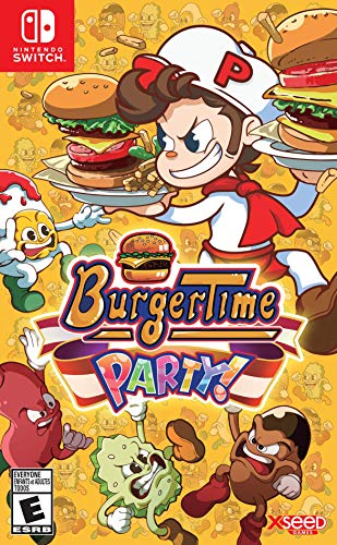 BurgerTime Party! - Nintendo Switch 1