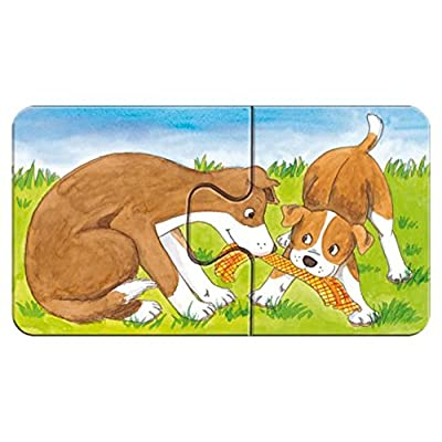 Ravensburger at The Farm My First Puzzles, 2-Piece: Toys & Games
