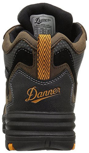Danner Mens Springfield 4,5 Ms Botte De Construction Marron / Orange