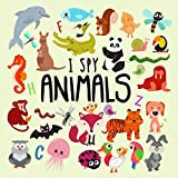 learning games for 2 year olds - I Spy - Animals!: A Fun Guessing Game for 2-4 Year Olds
