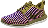 Nike Women's Roshe Two Flyknit Running Shoe (8 B(M) US - Dark Cinder Khaki)