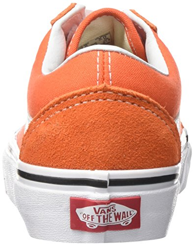 Flame Erwachsene True Old Orange Vans White Unisex Skool 2w1 Sneaker qUaZYx