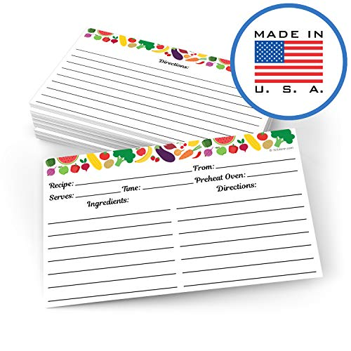 321Done Set of 50 Recipe Cards (3