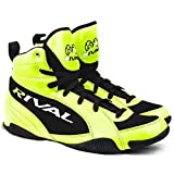 rival boots - Rival Boxing- Youth Low Cut Boxing Boot (Lime Green & Black, 1)