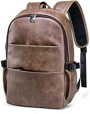 Xiejuanjuan Women Backpack Purse Anti-Theft Rucksack Women Backpack Pu Leather College School Satchel Laptop Work Bag Travel Camping Backpack for Men Women Fit for Daily Use Teacher Students Travel